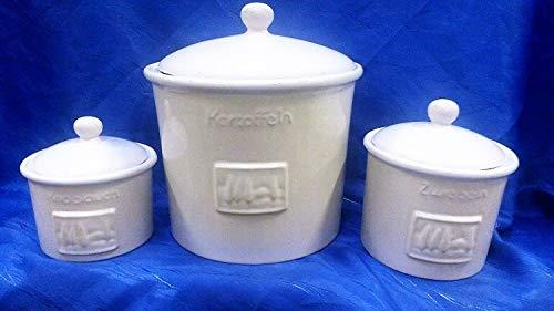 Zimmermann24de Kartoffeltopf Zwiebeltopf Knoblauchtopf Keramik