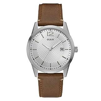 Guess Homme Uhr Analogique Quartz mit Cuir Armband W1186G1