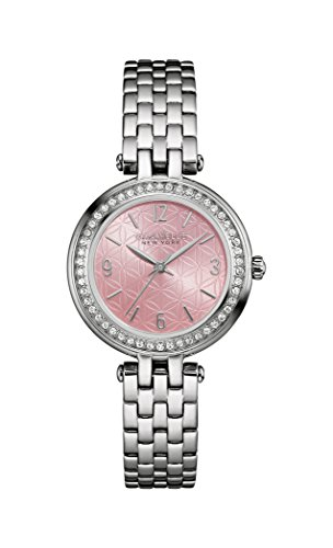 Caravelle New York Womens Analogue Quartz Watch with Stainless-Steel Strap 43L193