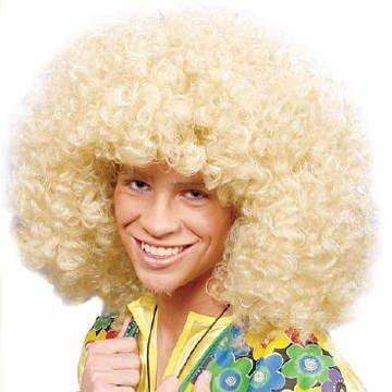 Perücke Super-Afro, blond TOP-QUALITÄT