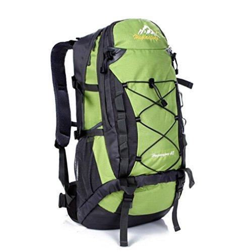 Wmshpeds 40L alpinismo pacchetto viaggio femmina borsa a tracolla impermeabile maschio zainetto E