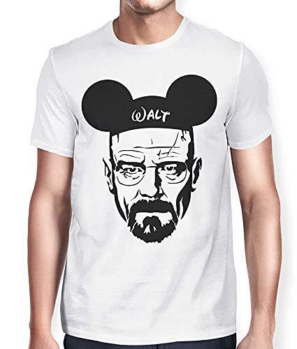 Gesicht Waschen-marken (Hobby T-Shirt Herren Breakingbad Walt Lustiges Gesicht Sommer Kurzarm T-Shirt)