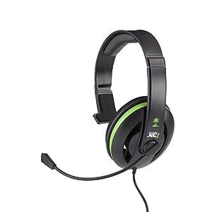 'Turtle Beach Ear Force XC1–Kopfhörer mit Mikrofon (Xbox 360, verkabelt, 2.5mm (2/32), PC/Spiele, ohrumschließend, 20–20000Hz)