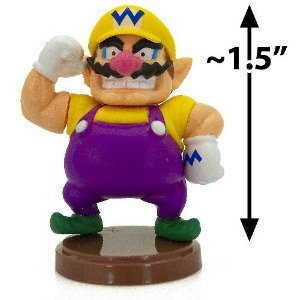 INI FIGUREN WARIO (4 CM Mini Figure) (Super Mario Peach Amiibo)