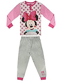 Pijama niña Minnie manga larga