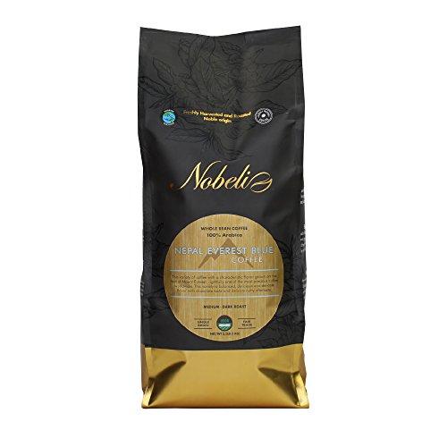 Nepal, Everest Azul único orgin Orgánica tostado grano especialidad Gourmet café, 1kg Bolsa peso neto