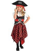 Raggy Pirate Girl - Childrens Fancy Dress Costume