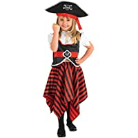 Rubie's Official Christy's Toddler Girl's Little Lass Pirate Costume
