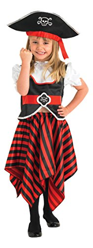 Rubie's Raggy Piraten-MŠdchen - Kinder- KostŸm - Small - 104cm