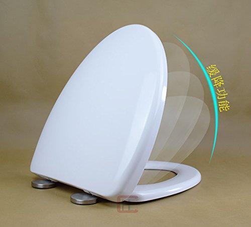 Topseh WC Deckel, Rohstoff Verdickung Pp Breite 37 einfache, moderne und komfortable Entkeimung Home wc Gemeinsame