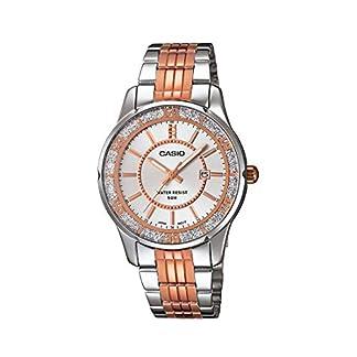 Casio Enticer Analog Silver Dial Women's Watch – LTP-1358RG-7AVDF (A896)