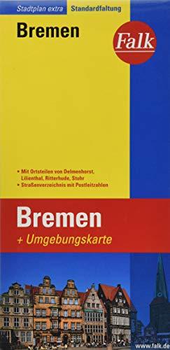 Falk Stadtplan Extra Standardfaltung Bremen Stadtteile von Delmenhorst