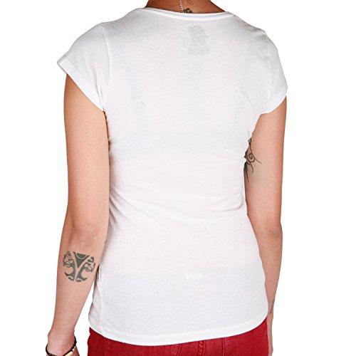 Boombap Riri T-Shirt weiß Weiß