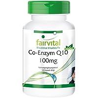 Co-enzima Q10 100mg - Bote para 4 meses - VEGANO - Alta dosificación -