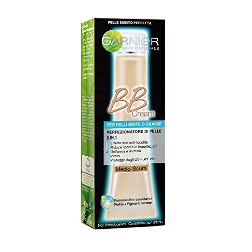 Garnier - BB créme - Perfecteur de teint - Peau Mixte à Grasse - Medium