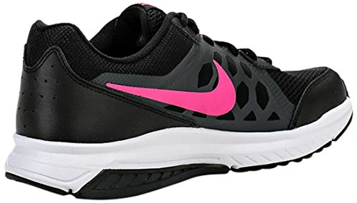 Nike Wmns Dart 11, Chaussures de sport femme Noir (Black/Pink Power/Anthrct/White)