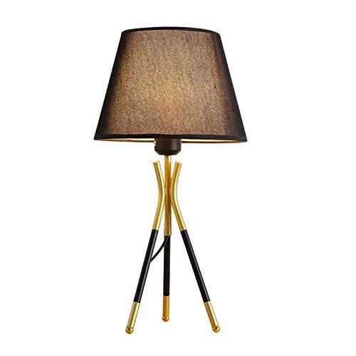 Moderne stativ led tischlampe wohnzimmer schlafzimmer nachttischlampe warme energiesparende tischlampe (ohne lichtquelle) 1 (Stativ Hirsche)