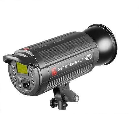 Jinbei Digital Pioneer PRO DPs III 400 - Remote Control Studioblitz 400Ws / Leitzahl 66 (Digital Studio Beleuchtung)