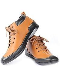 Moladz Men Elba Faux Leather Casual Boot
