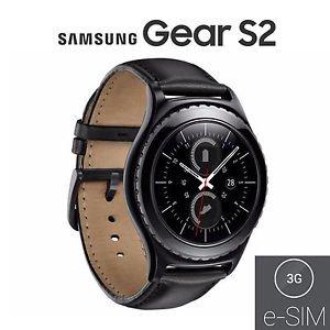 Samsung gear s23g classic sm-r735smart watch nero (carta esim)