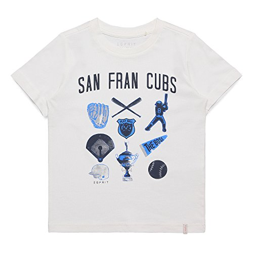 k T-Shirt, Elfenbein (Off-White 110), 6-7 Jahre ()