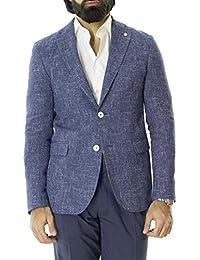 2e0f4af7eb Amazon.it: Fantasia - Blu / Giacche e cappotti / Uomo: Abbigliamento