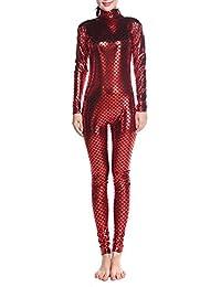 Muka Adulto Unitard Body Dancewear, Peces Escalas de Sirena Disfraz Leggings