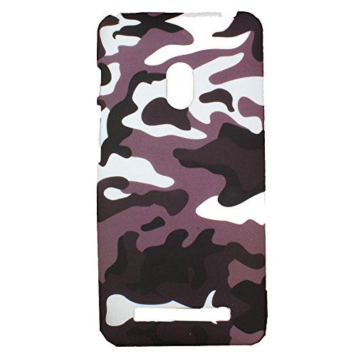 Heartly Army Style Retro Color Armor Hybrid Hard Bumper Back Case Cover For Asus Zenfone 5 A501CG - Ash Brown  available at amazon for Rs.149
