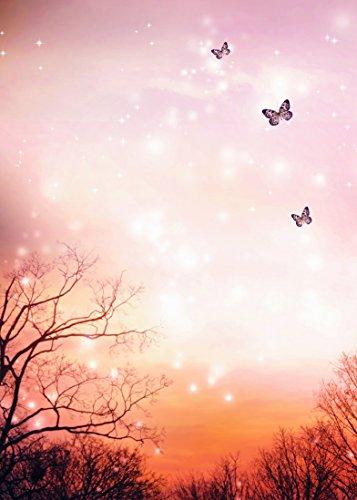 ition Fantasy Landschaft Natur, Glühwürmchen und Schmetterlinge. Oh Die Die 66414045 ()