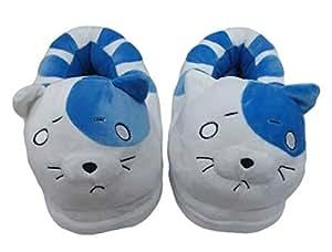 En peluche de style de chat pantoufles d'hiver de Anime Himouto Doma Umaru