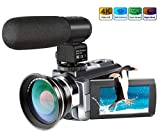 Best Camcorders - Camera Camcorder, Ansteker 4K Ultra HD Video Camera Review