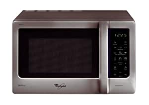Whirlpool–Micro-ondes mwd208sl, 18L, grill, argent, appartement électronique