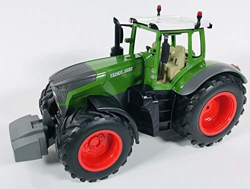 BUSDUGA RC Ferngesteuerter Traktor FENDT 1050 Vario 1:16 - 2,4Ghz, inkl. Batterien - Sound - RTR (Ready-to-Run) Sofort Spielbereit - Lizenz NACHBAU*