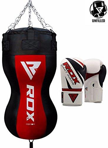 RDX Uppercut Sacos De Boxeo Bolsa MMA SIN LLENAR Ángulo Cuerpo Saco P