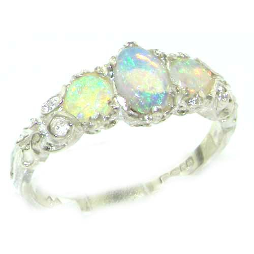 ladies-solid-sterling-silver-natural-fiery-opal-english-victorian-trilogy-ring-size-s-finger-sizes-l