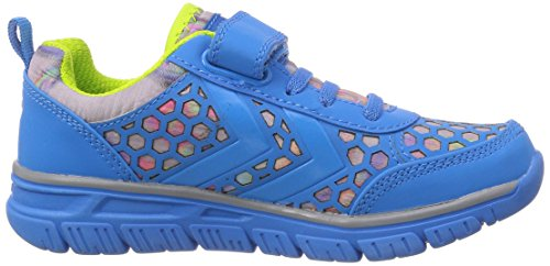 Hummel Hummel Crosslite Ii Jr Velcro, Chaussures indoor mixte enfant Bleu - Bleu brilliant (7359)