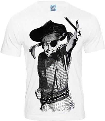 Piraten T Shirts Für Männer - original PIPPI LANGSTRUPMPF Retro Herren T-Shirt