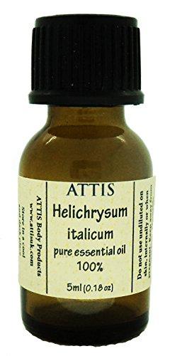 ATTIS Helichrysum italicum | (Immortelle/Strohblume) | 100% naturreines ätherisches Öl | 5ml -