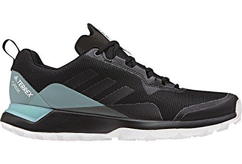 adidas Damen Terrex CMTK GTX W Trekking-& Wanderhalbschuhe, Grau (Carbon/Negbás/Vercen 000), 40 EU