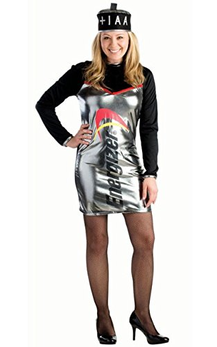 Kostüm Füße Bunny - Dress Up America Energizer Batterie Dress Kostüm für Damen
