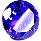 Urancia® Exquisite Shining Blue Zircon Stone Baikrantamoni Zargun Jarkan Stone 6.7 Cts Lab Certified For All