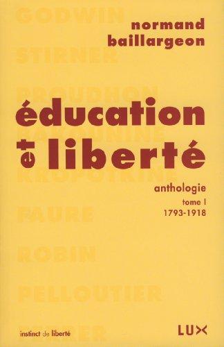 Education et libert : Tome 1, 1793-1918