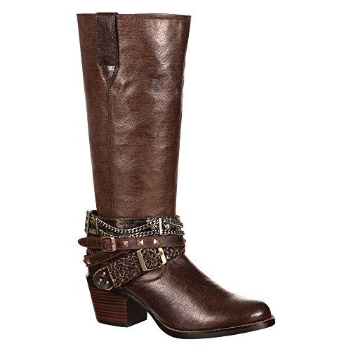 Durango Boots  DRD0073, Bottes et bottines cowboy femme Marron - Marron