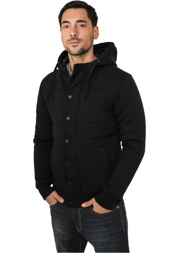 Urban Classics Sweat Winter Jacket Winterjacke Cha Schwarz-1