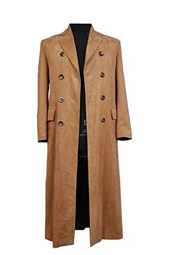 Doctor Who Dr. Brown Langer Trench Mantel Suit Cosplay Kostüm Herren