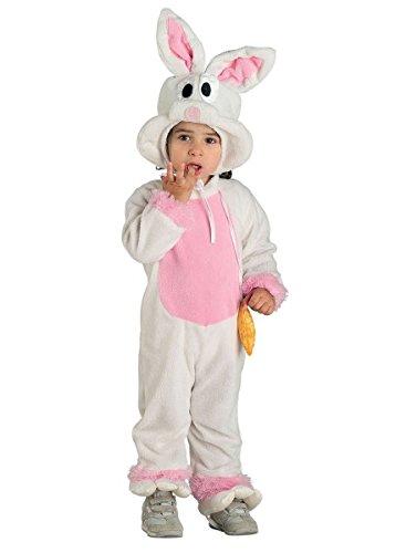 Baby Kostüm Hase, Hasen Kostüm Kleinkind rosa-weiß, - Häschen-anzug Rosa Erwachsene