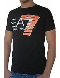 T-shirt EA7 EMPORIO ARMANI homme manches courtes noir