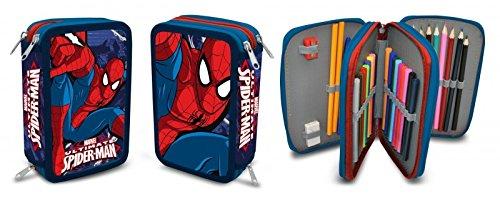 Estuche Plumier Triple Spiderman