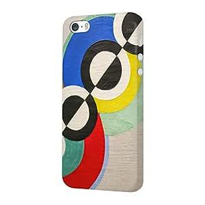 MADANYU iPhone SE/iPhone 5S / iPhone 5 Cover - Rhythm Circular Art for Artist Designer Printed Slim Back Case Cover for iPhone SE/iPhone 5S / iPhone 5