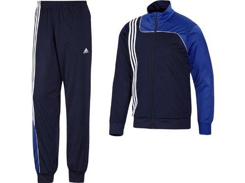 adidas Herren Trainingsanzug  Sereno 11, New Navy/Cobalt, 3, V38054
